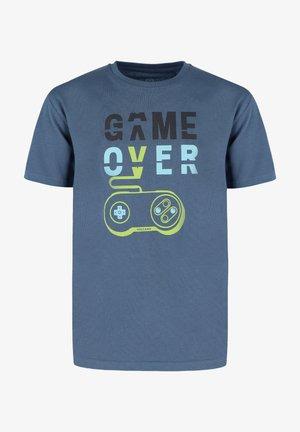 T-GAME JUNIOR - T-shirt print - denim