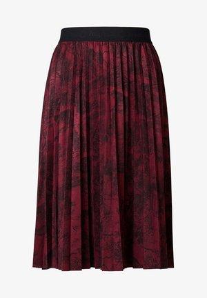 FAL COOPER - Jupe plissée - red