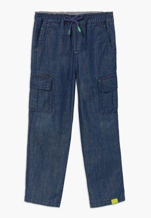 CHARLIE  - Pantalones cargo - dark denim