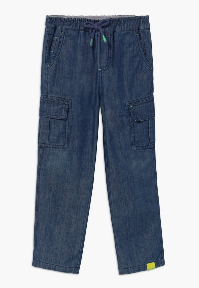 CHARLIE  - Pantalon cargo - dark denim
