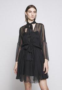 Pinko - SAETTA ABITO - Vestito elegante - black - 0