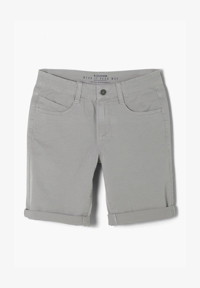 s.Oliver - KURZ - Shorts - light grey