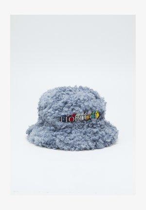 SHEARLING BUCKET HAT - Cappello - blue
