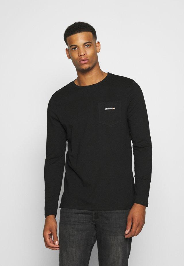 VETIO - Bluzka z długim rękawem - black