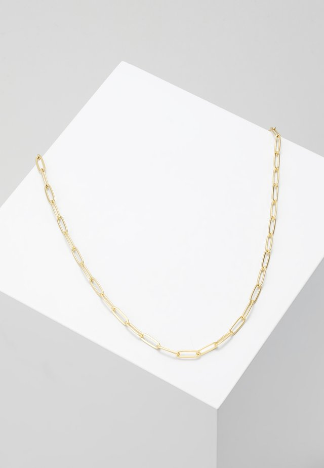 LARGE LINK SINGLE CHAIN - Collar - pale gold-coloured