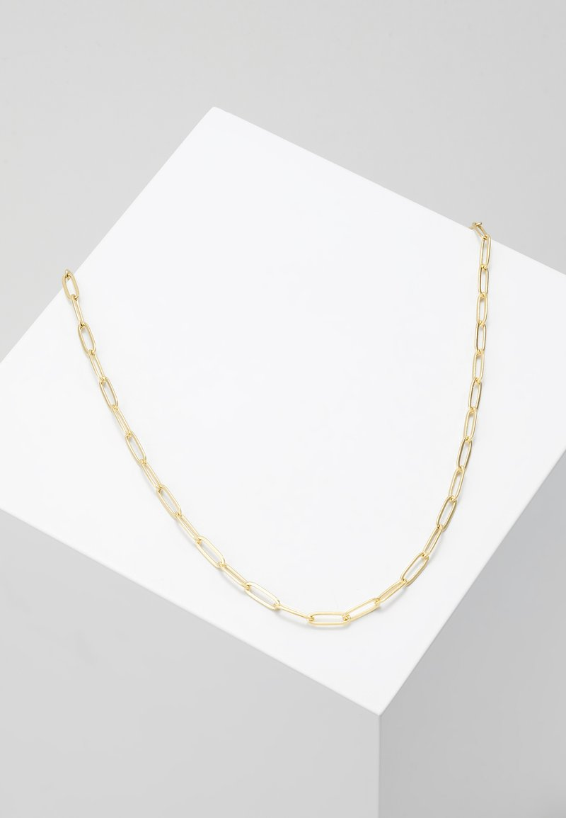 Orelia - LARGE LINK SINGLE CHAIN - Necklace - pale gold-coloured
