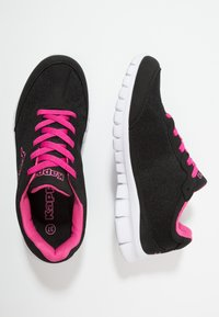 Kappa - ROCKET  - Scarpe running neutre - black/l'pink - 1