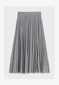 Bershka - A-line skirt - light grey - 4