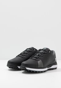 Under Armour - FADE RST 3 E - Golfové boty - black/white - 2