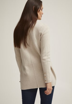 SHELLY - Cardigan - beige melange