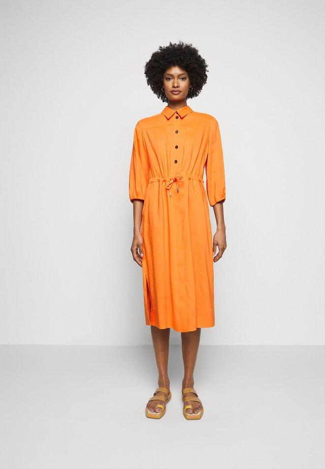 Shirt dress - calendula