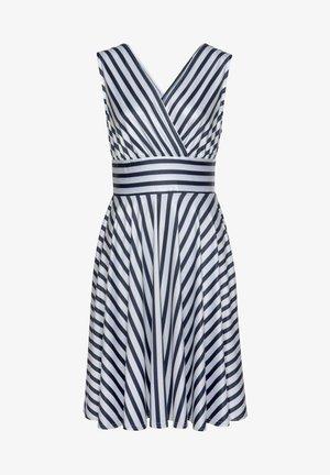 Day dress - marine-weiß-gestreift