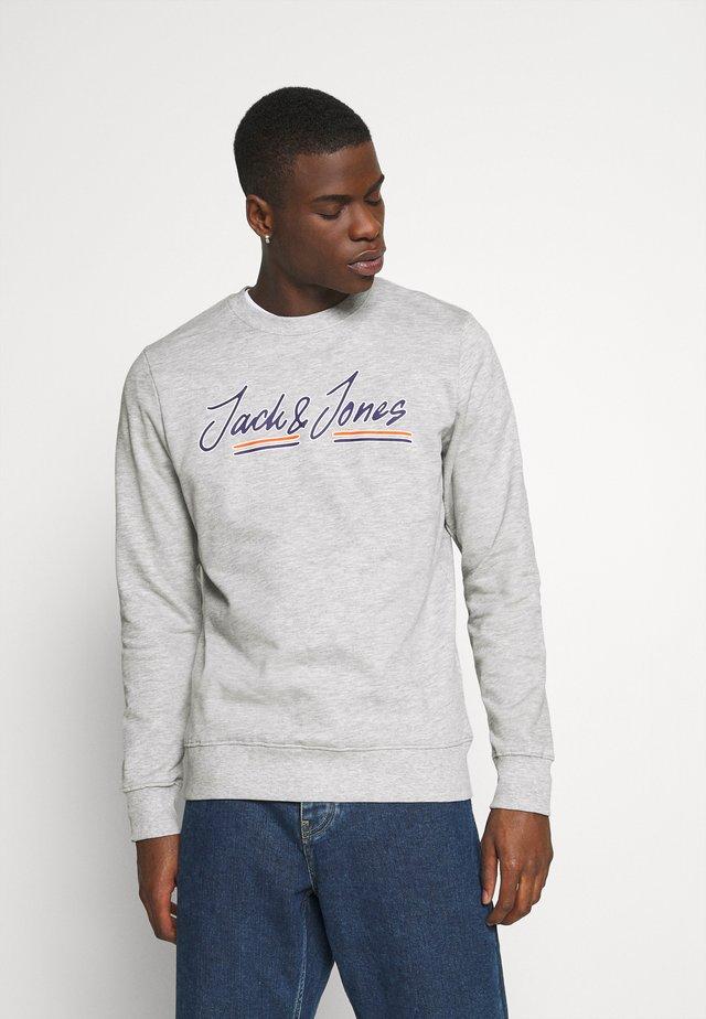 JWHFRANCO CREW NECK - Sweatshirt - light grey melange