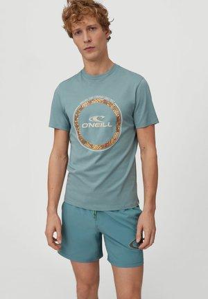 TRIBE - Print T-shirt - arctic