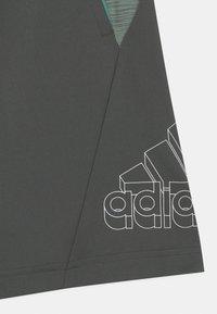 adidas Performance - Korte broeken - mottled dark grey - 2