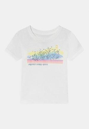 NATIONAL GEOGRAPHIC TODDLER GIRL SUMMER  - Print T-shirt - white