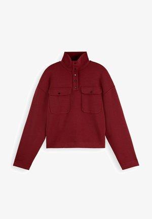 UTILITY-STYLE - Sweatshirt - ruby red