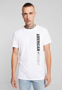 American Eagle - AUGUST VALUE - Print T-shirt - white - 0