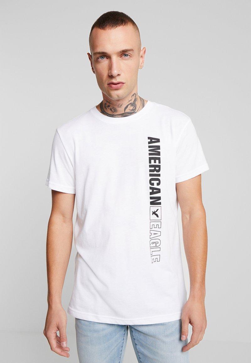 American Eagle - AUGUST VALUE - Print T-shirt - white