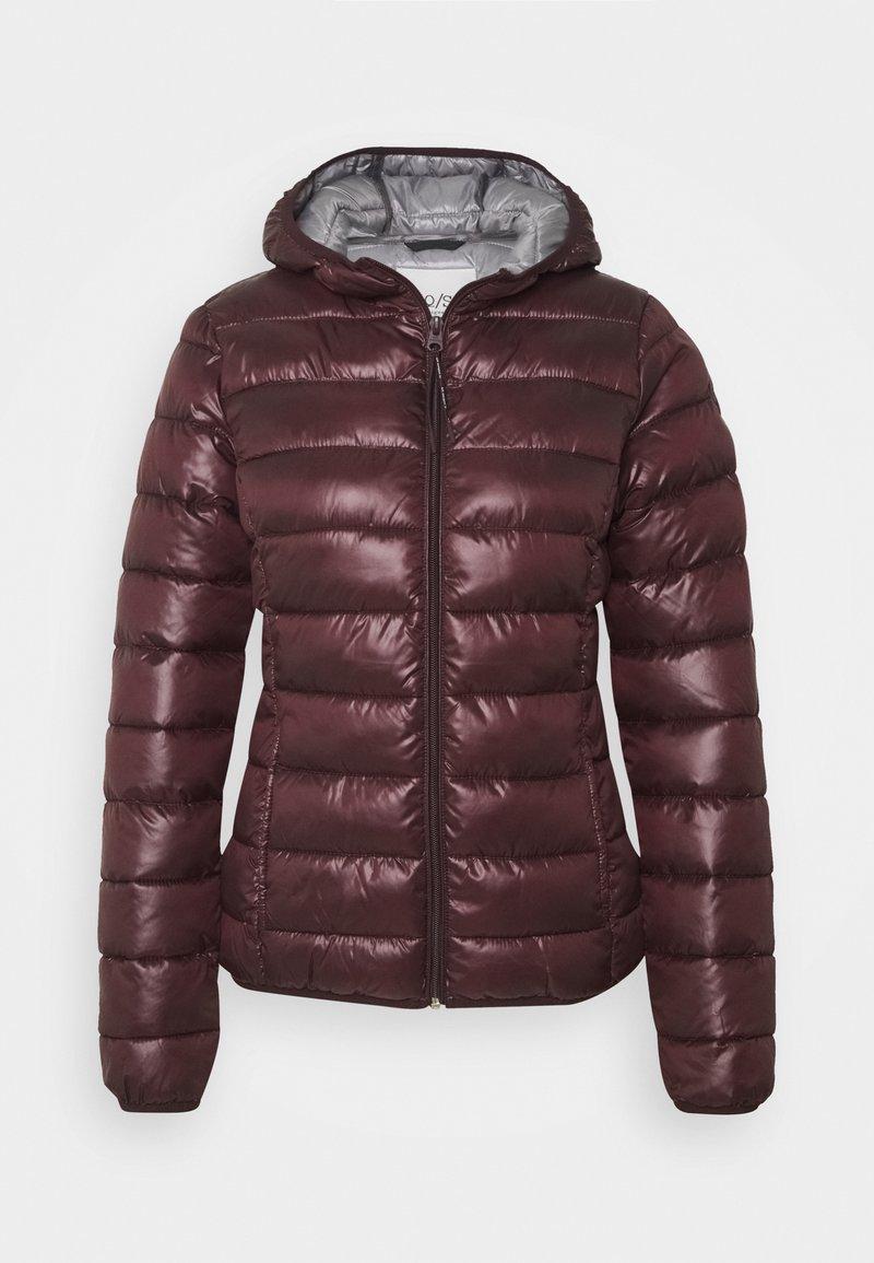 Q/S designed by - Winter jacket - dark ruby