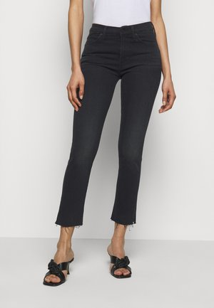 THE RASCAL ANKLE SNIPPET - Jeansy Skinny Fit - black bird