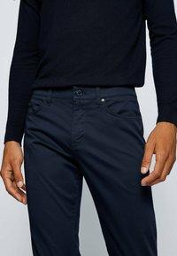 BOSS - DELAWARE - Slim fit jeans - dark blue - 3