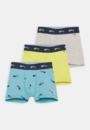 MINI 3 PACK - Pants - lagune