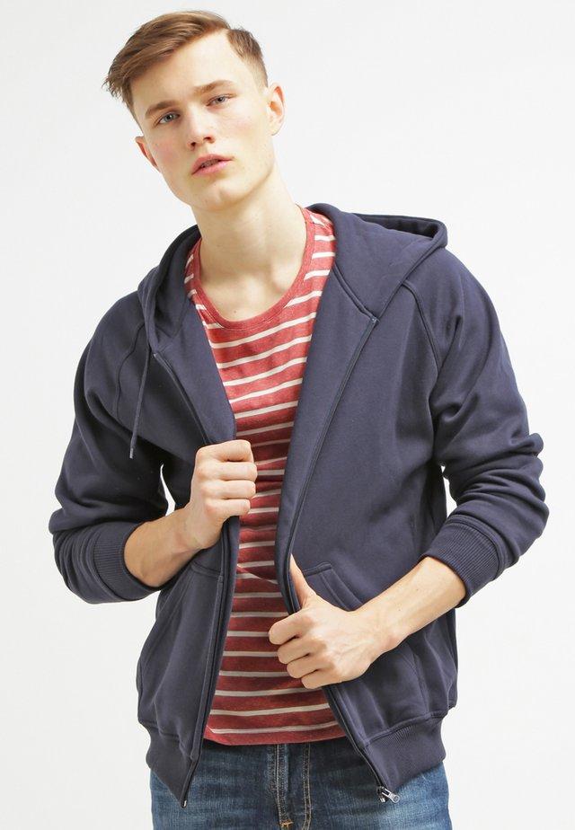 ZIP HOODY - Zip-up hoodie - dark blue