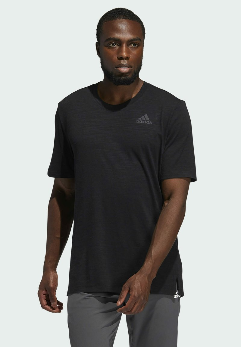 adidas Performance - CITY ELEVATED T-SHIRT - Basic T-shirt - black