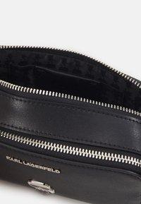 KARL LAGERFELD - IKONIK PIN CAMERA BAG - Across body bag - black - 2