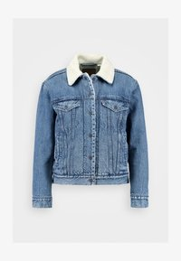 Levi's® - EX-BF SHERPA TRUCKER - Giacca di jeans - addicted to love - 6