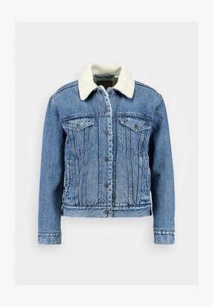 EX-BF SHERPA TRUCKER - Denim jacket - addicted to love