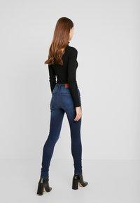 Noisy May - NMLUCY - Jeans Skinny Fit - dark blue denim - 2