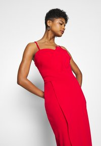 WAL G. - PANEL DETAIL LONG DRESS - Gallakjole - red - 3