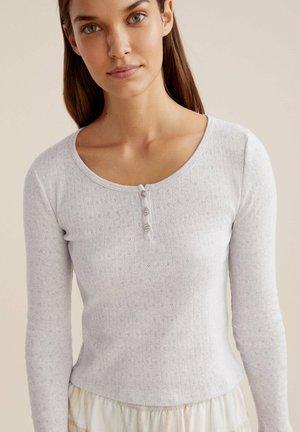 Pyžamový top - light grey