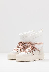 Marc O'Polo - Bottines à lacets - offwhite - 4