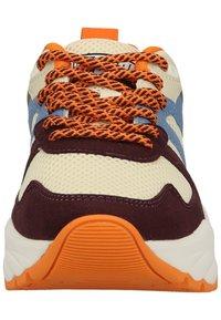 Scotch & Soda - CELEST - Sneakers laag - bordo multi - 5