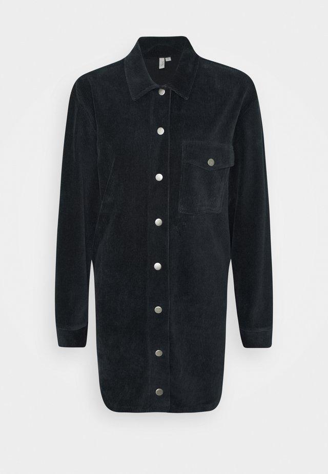 OVERSIZE DRESS - Blusenkleid - offblack
