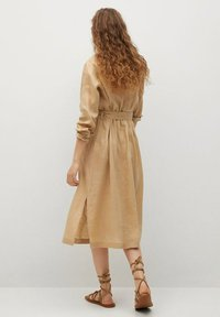 Mango - Shirt dress - beige - 2