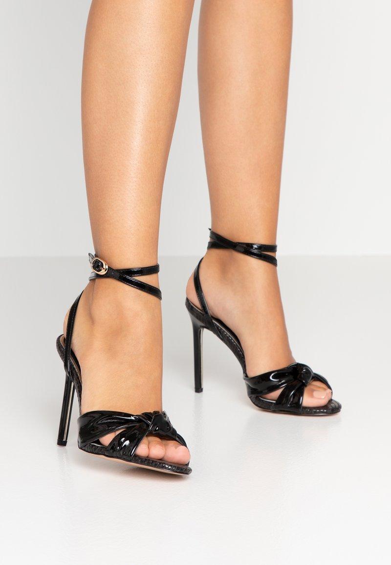 River Island - High heeled sandals - black