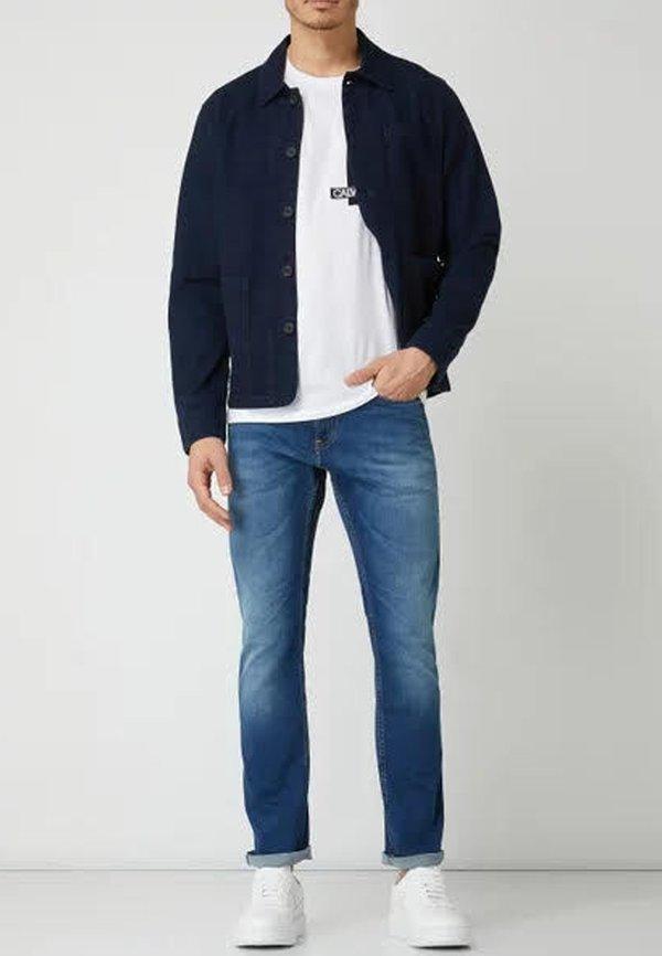 Tommy Jeans SCANTON SLIM WMBS - Jeansy Slim Fit - wilson mid blue stretch/niebieski Odzież Męska KTDC