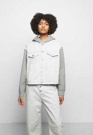 Džínová bunda - light grey