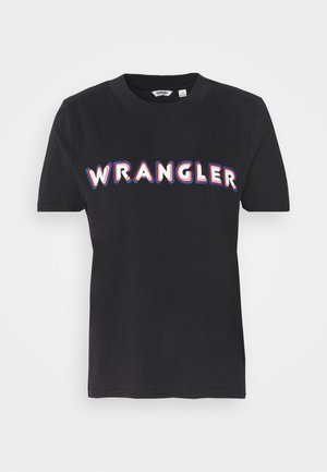 HIGH REGULAR TEE - T-Shirt print - black