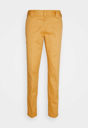 872 SLIM FIT WORK PANT  - Chinos - apricot