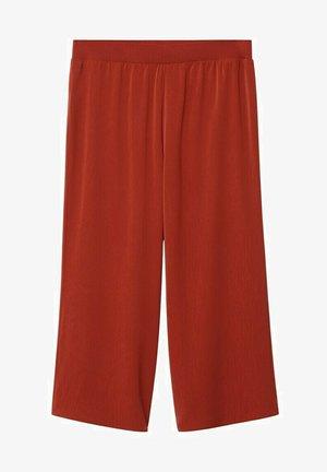 Kalhoty - rubinrot