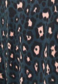 Hunkemöller - BAG LEOPARD - Pyjamas - dark teal - 5