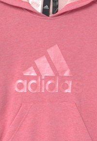 adidas Performance - Jersey con capucha - hazy rose melange - 2