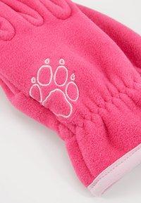 Jack Wolfskin - BAKSMALLA GLOVE KIDS - Gloves - pink fuchsia - 3