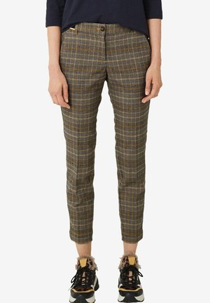 Trousers - yellow check
