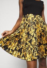 Versace Jeans Couture - LADY DRESS - Cocktail dress / Party dress - black - 6